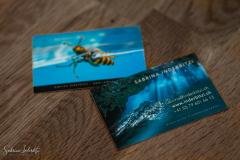 Visittenkarten für Sabrina Inderbitzi