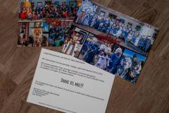 Dankeskarten für Gönner TropeblocherDankeskarte Gönner Tropeblocher