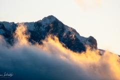 Pilatus mit Wolken