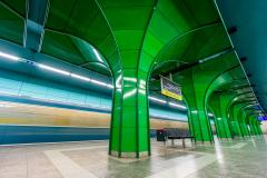 Böhmerwaldplatz, Metro, München