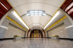 Bucharestskaja, Metro, St. Petersburg-2