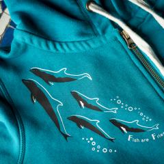 Dolfin Fish Are Friends Jacket
