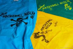 Helfer T-Shirts für Maskeball Wislig